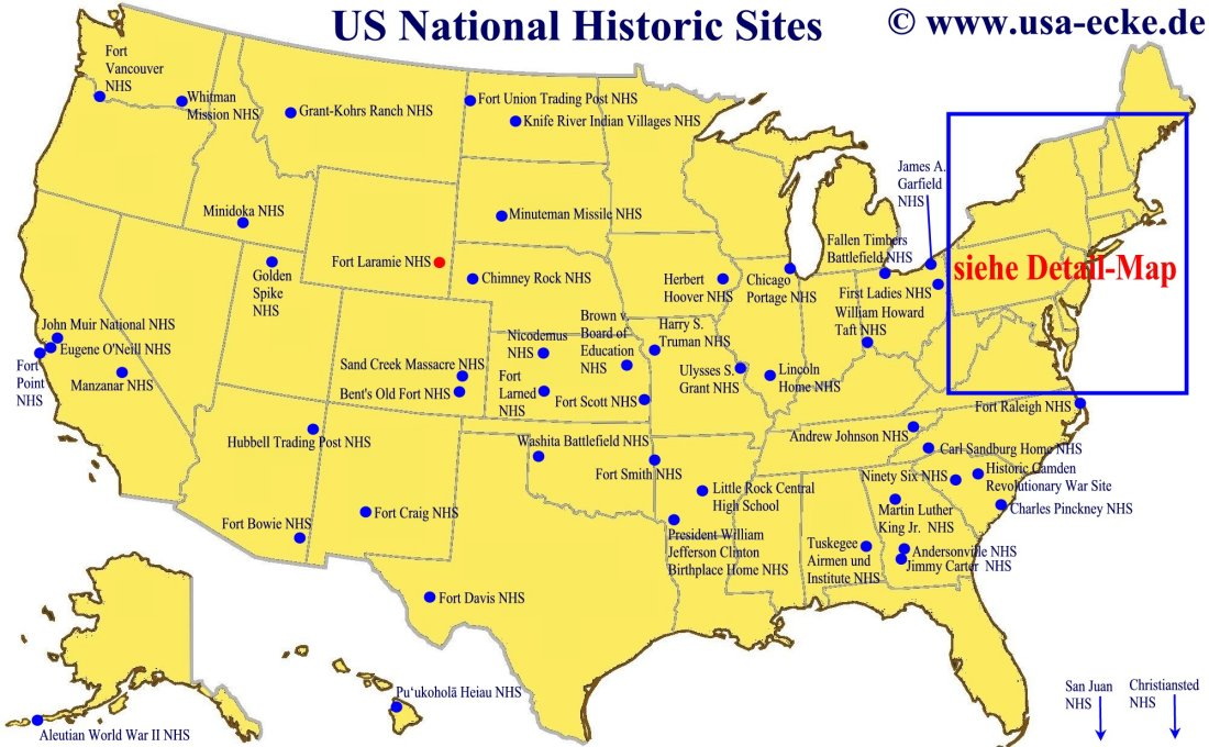 USAEcke National Historic Sites