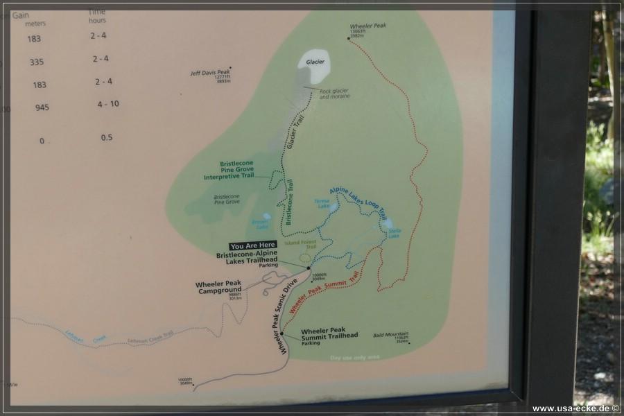 USA-Ecke Great Basin National Park 2018