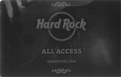 Hard Rock Cafe All Access Karte